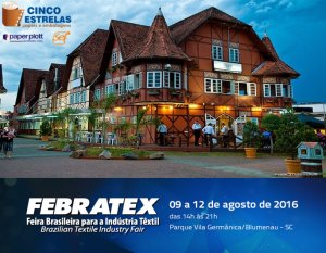 Febratex 2016 inicia Pré-Credenciamento online